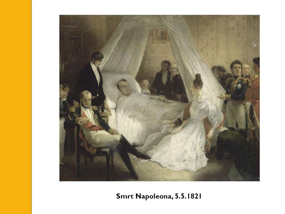 Smrt Napoleona, 5.5.1821