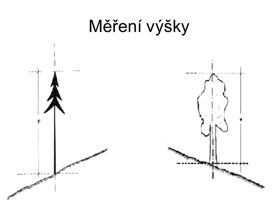 Měření výšky