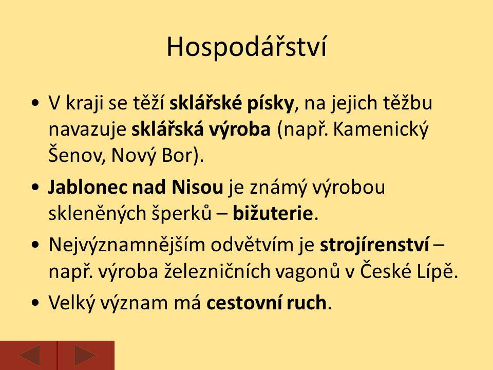 Zajímavosti CHKO Český ráj s pískovcovými skalními městy.