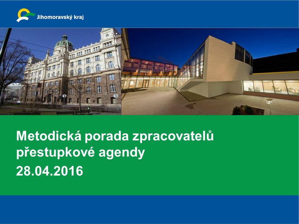 Metodická porada zpracovatelů přestupkové agendy 28.04.2016