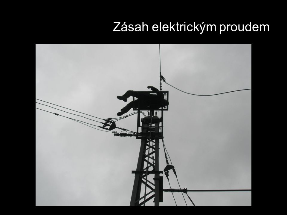 Zásah elektrickým proudem
