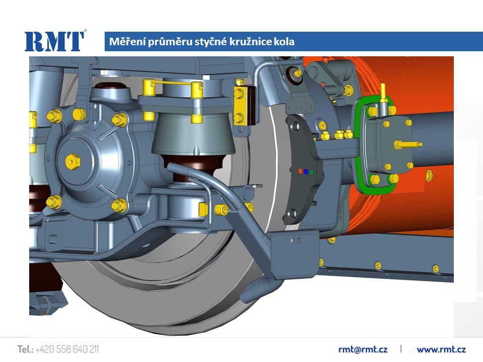 Měření průměru styčné kružnice kola Přistroj IDK je určen pro měření průměru styčné kružnice kola (stupně opotřebení) tramvajových kol při technických kontrolách a opravách.