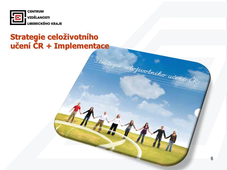 6 Strategie celoživotního učení ČR + Implementace