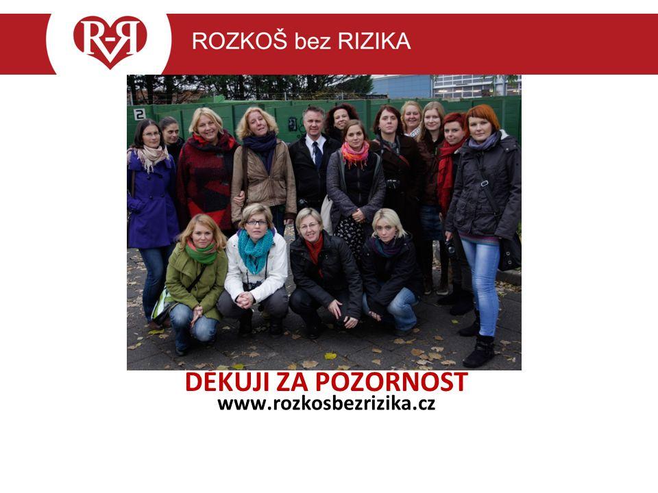 DĚKUJI ZA POZORNOST www.rozkosbezrizika.cz