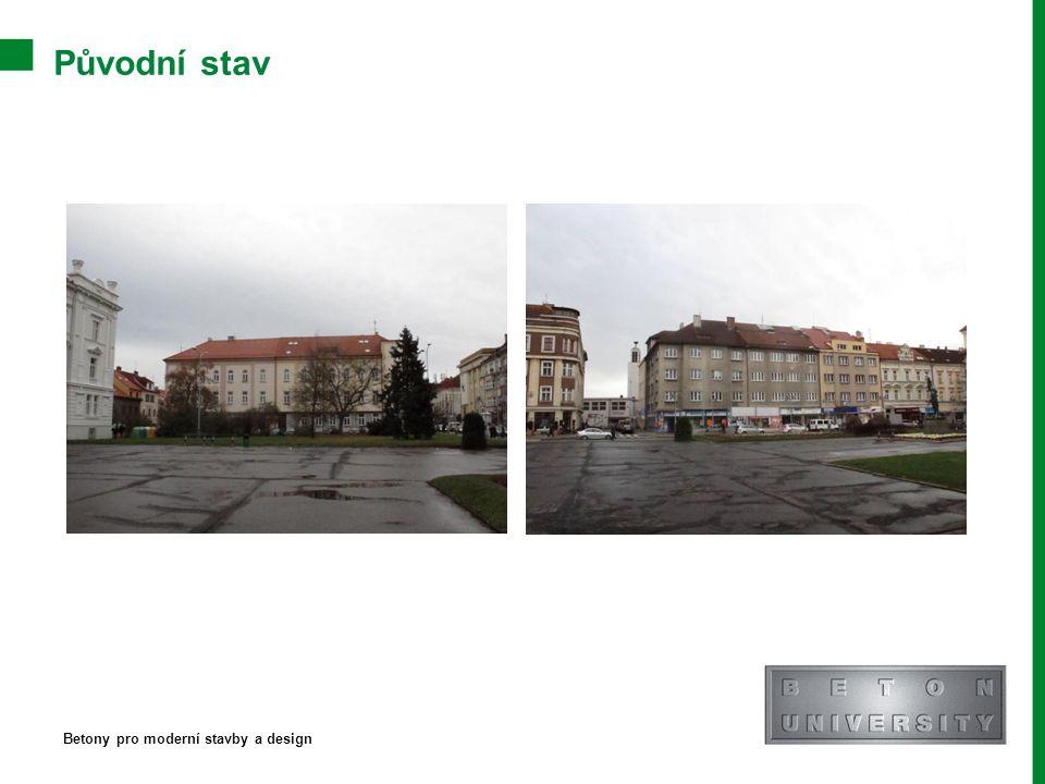 Původní stav Betony pro moderní stavby a design