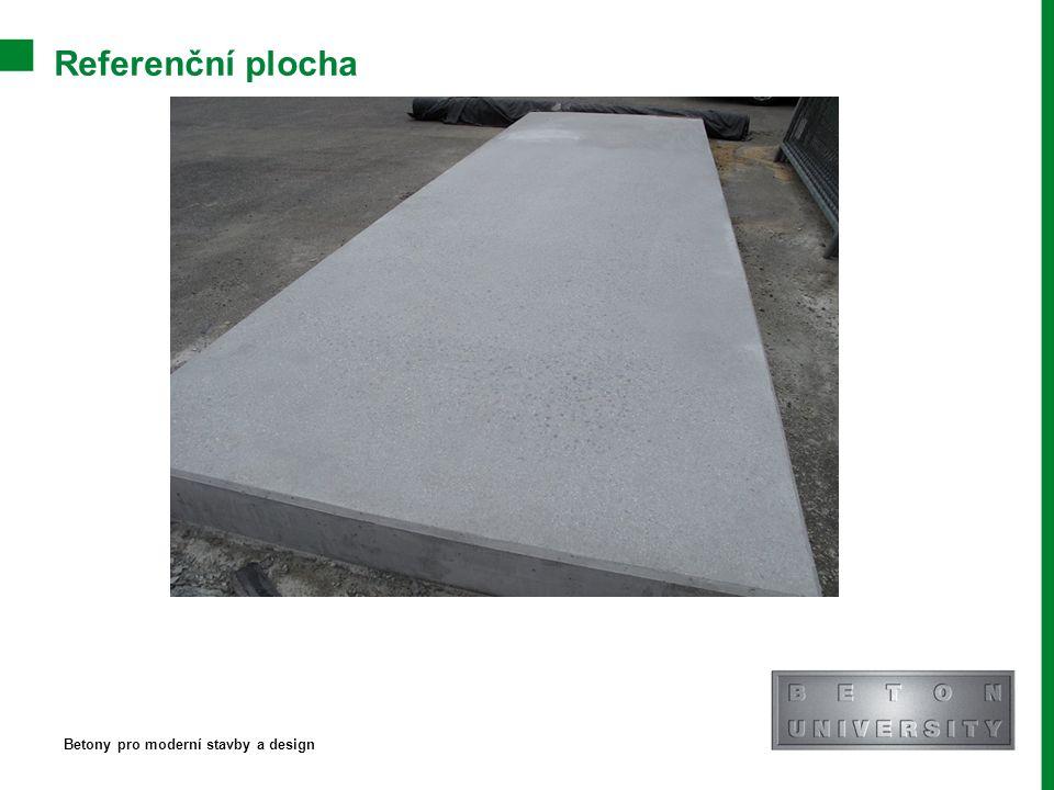 Referenční plocha Betony pro moderní stavby a design
