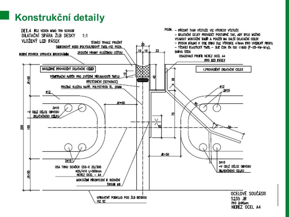 Konstrukční detaily Betony pro moderní stavby a design