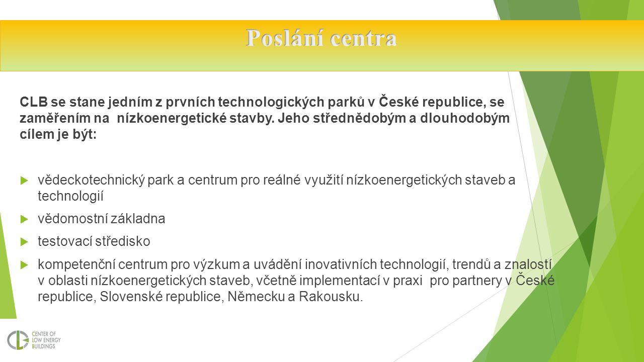CLB se stane jedním z prvních technologických parků v České republice, se zaměřením na nízkoenergetické stavby.