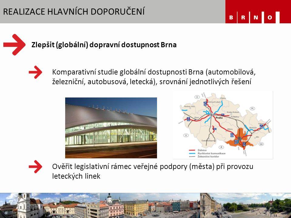 REGIONÁLNÍ INOVAČNÍ STRATEGIE Cíl = být jedním z nejinovativnějších regionů v Evropě Spolupráce na společné platformě univerzity + region + město Třetí generace Brno Expat Centre – podpora pro integraci cizinců 182 000 € Brno Ph.D.