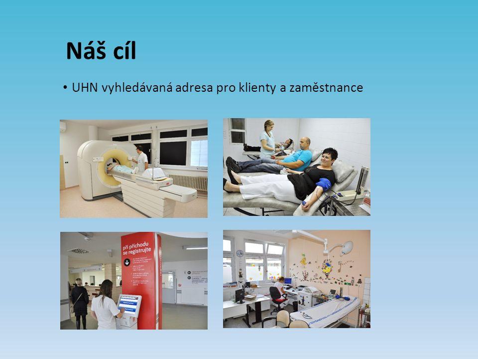 Náš cíl UHN vyhledávaná adresa pro klienty a zaměstnance