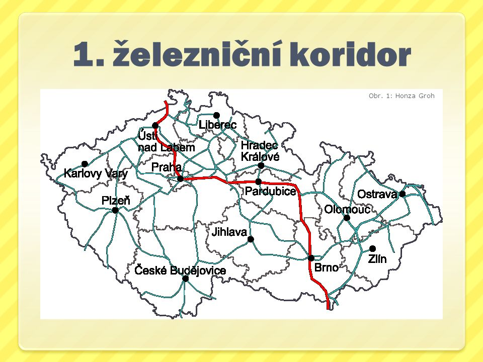 1. železniční koridor Obr. 1: Honza Groh