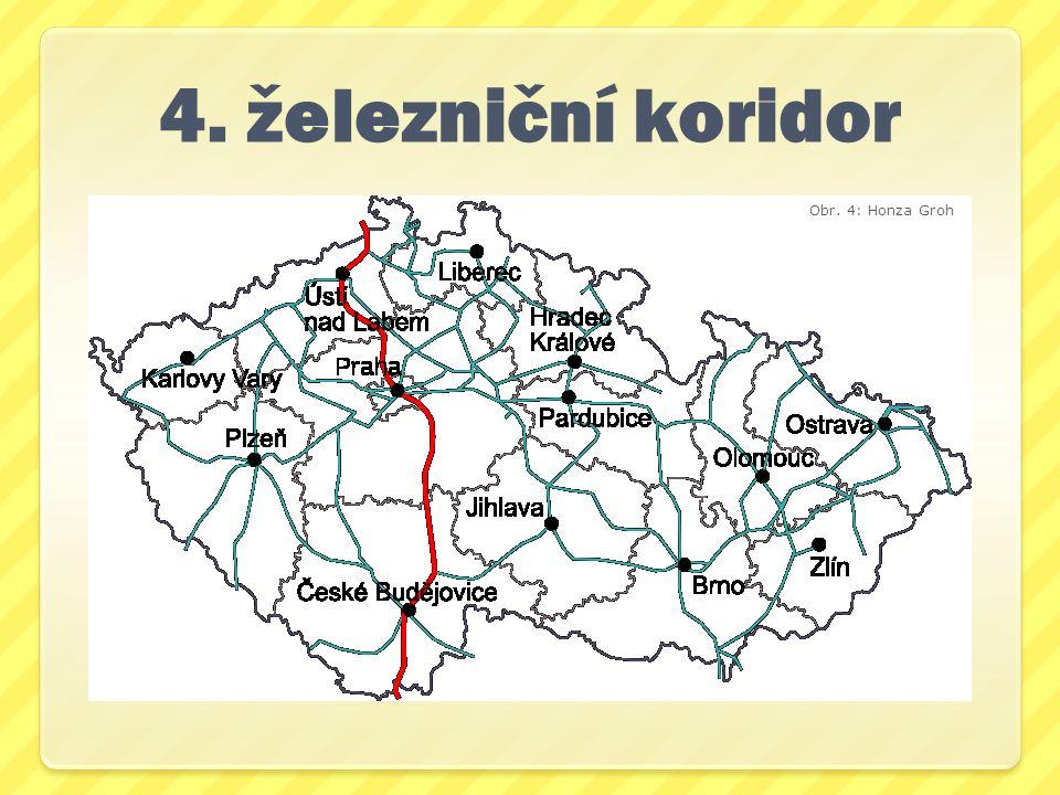 4. železniční koridor Obr. 4: Honza Groh