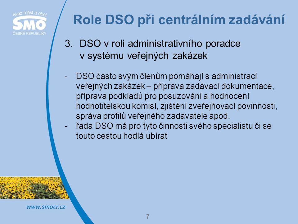 Praktický příklad 8 DSO mikroregion Stražiště -vznik v roce 2002 -22 členů – 1 město, 1 městys, 20 obcí -územní pokrytí shodné s ORP Pacov -cca 10 tis.