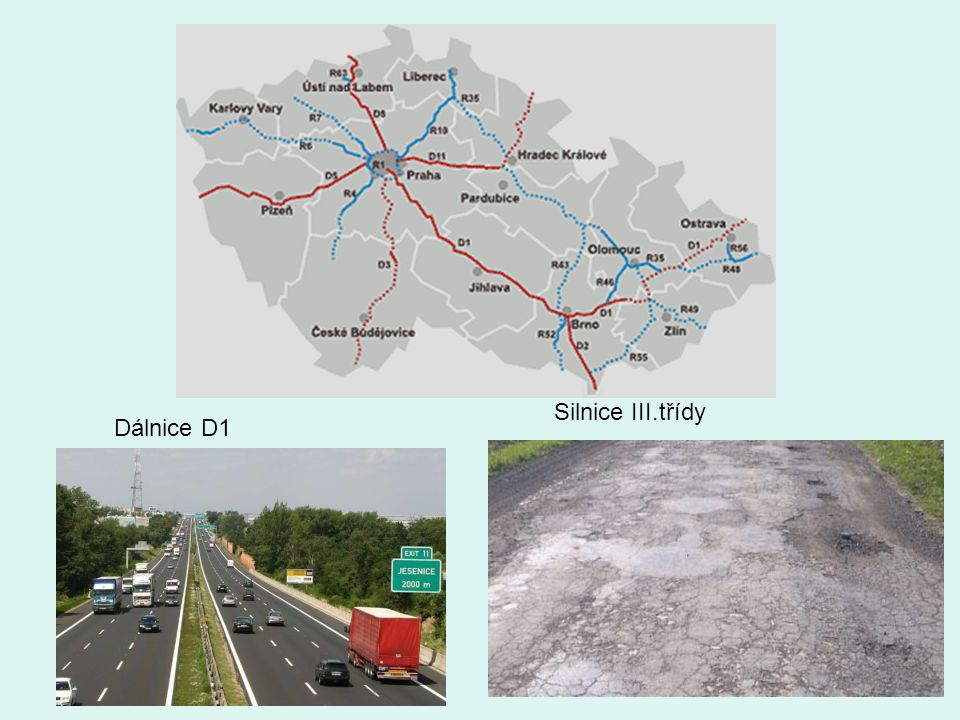 Silnice III.třídy Dálnice D1