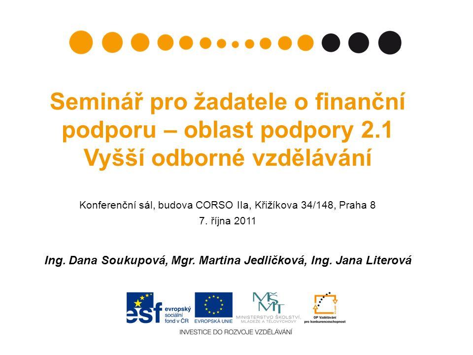 Partner s finančním příspěvkem bez finančního příspěvku Kritéria dle Příručky pro žadatele: právnická osoba (pozor!.
