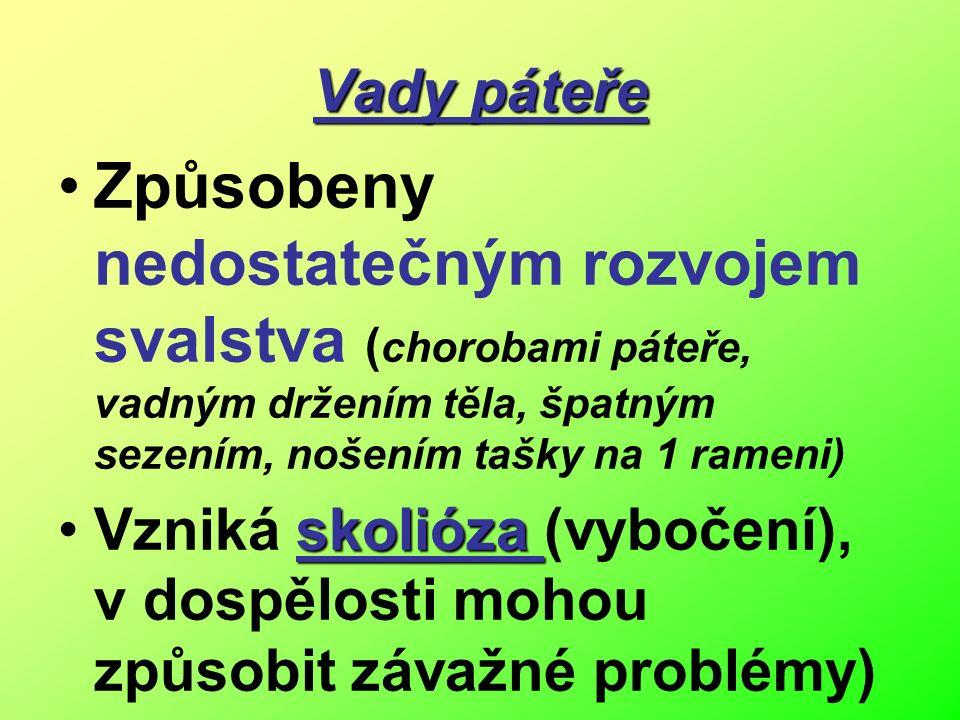 Uč. 25/20 Dvojesovité prohnutí (vznik po narození během 1.