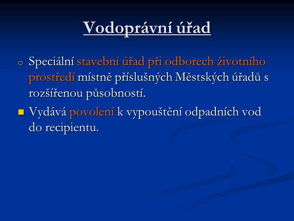 Čistírna odpadních vod (ČOV) 1/4 o Typy odpadních vod: průmyslové, ze zemědělství, komunální, smíšené (komunální a průmyslové).
