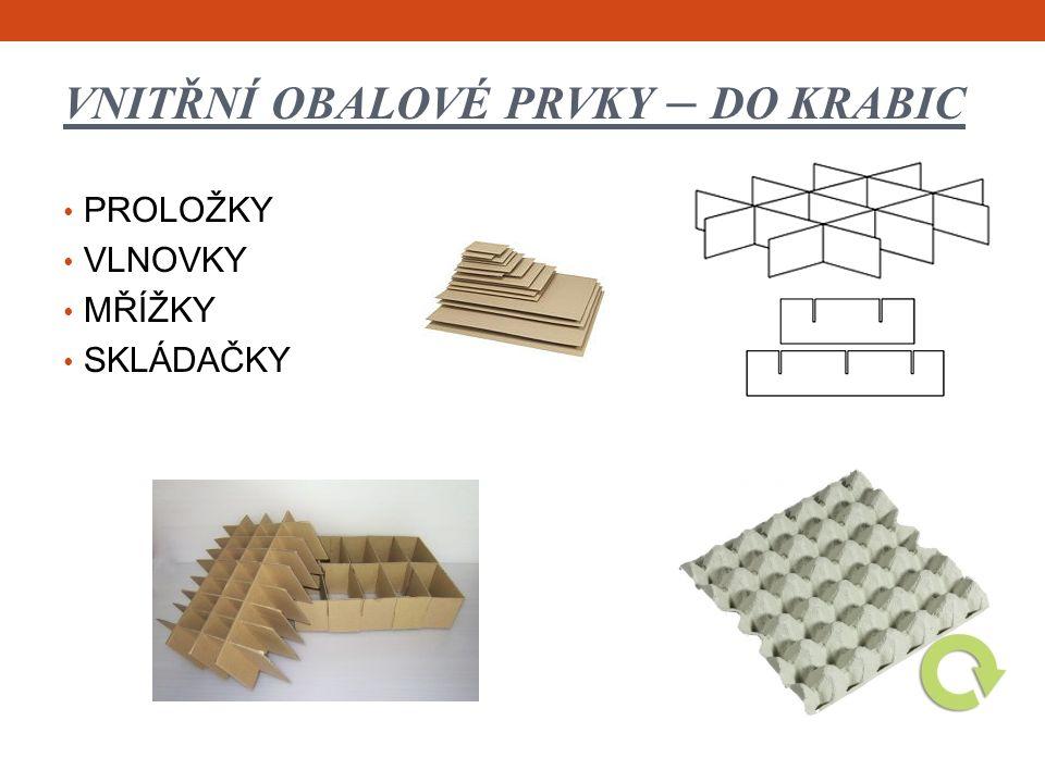 Z PRODEJNY KE SPOTŘEBITELI kov /plechovka/- kompoty PVC a smrštitelná fólie - maso papírový sáček - mouka sklo /sklenice/- okurky PET - nápoje sklo /lahev/- nápoje celofán lakovaný /smrštitelná fólie /- sýr aerosolové balení / sprej /- šlehačka papír, mikroten- uzenina