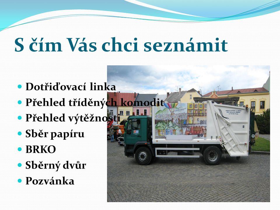 Rekonstrukce dotřiďovací linky duben 2013 Pásové dopravníky Další shozový box nyní celkem 9 Elektroinstalace Vzduchotechnika