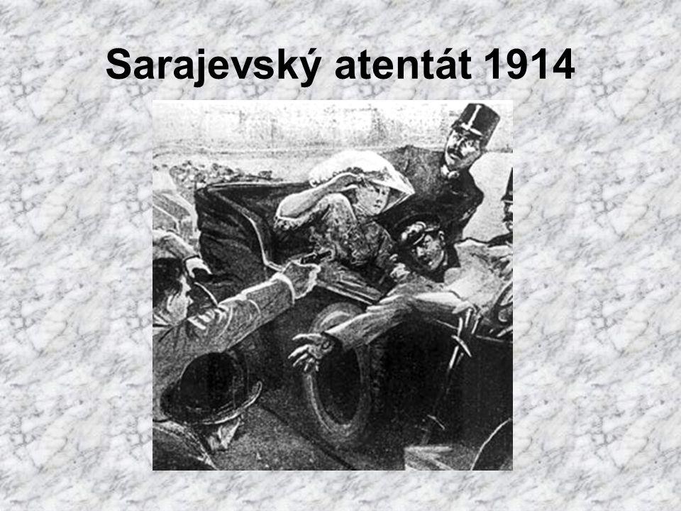 Sarajevský atentát 1914