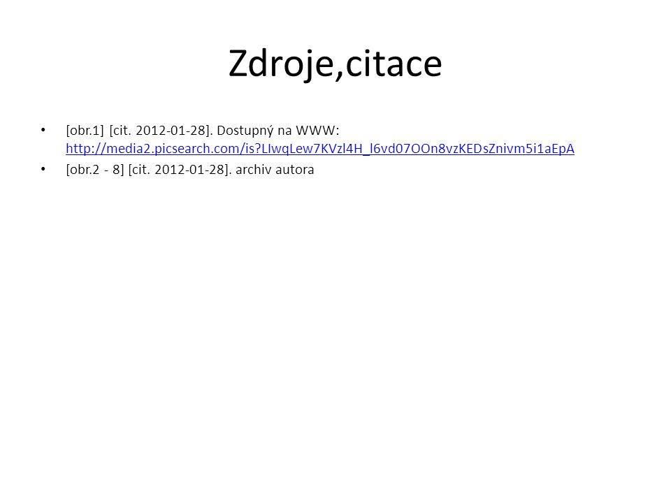 Zdroje,citace [obr.1] [cit. 2012-01-28].