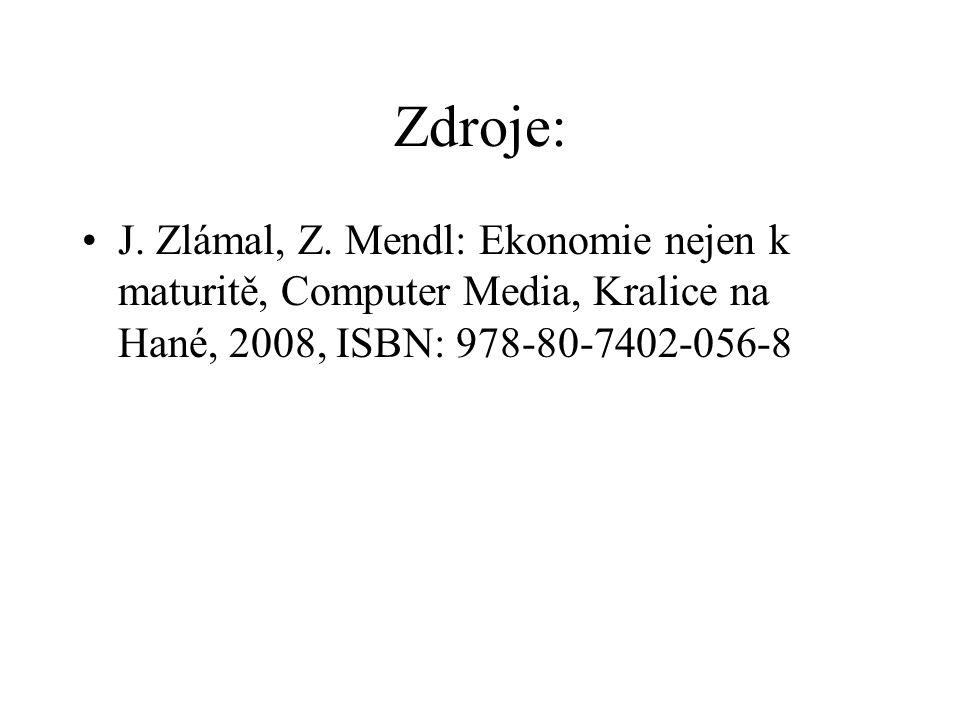 Zdroje: J. Zlámal, Z.