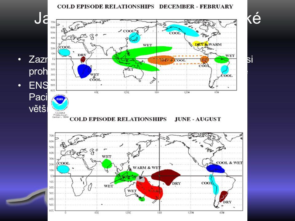 Jak ovlivňuje El Nino klimatické podmínky.