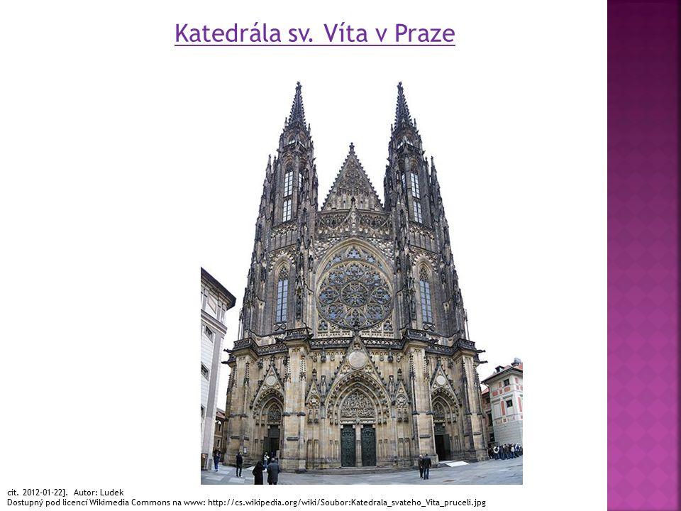 Katedrála sv. Víta v Praze cit. 2012-01-22].