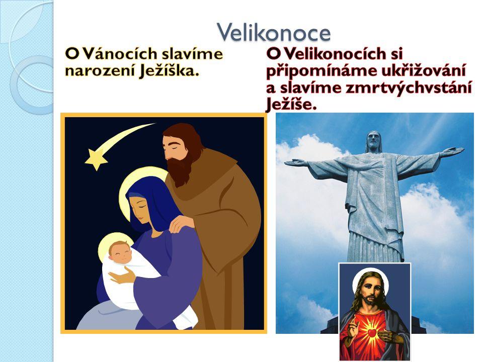Velikonoce Beránek – symbol obětování se za spásu světa Kříž – symbol ukřižování Svíce (paškál) – symbol ohně jako vítězství nad temnotou Vajíčko – symbol nového života Zajíček – symbol příchodu jara