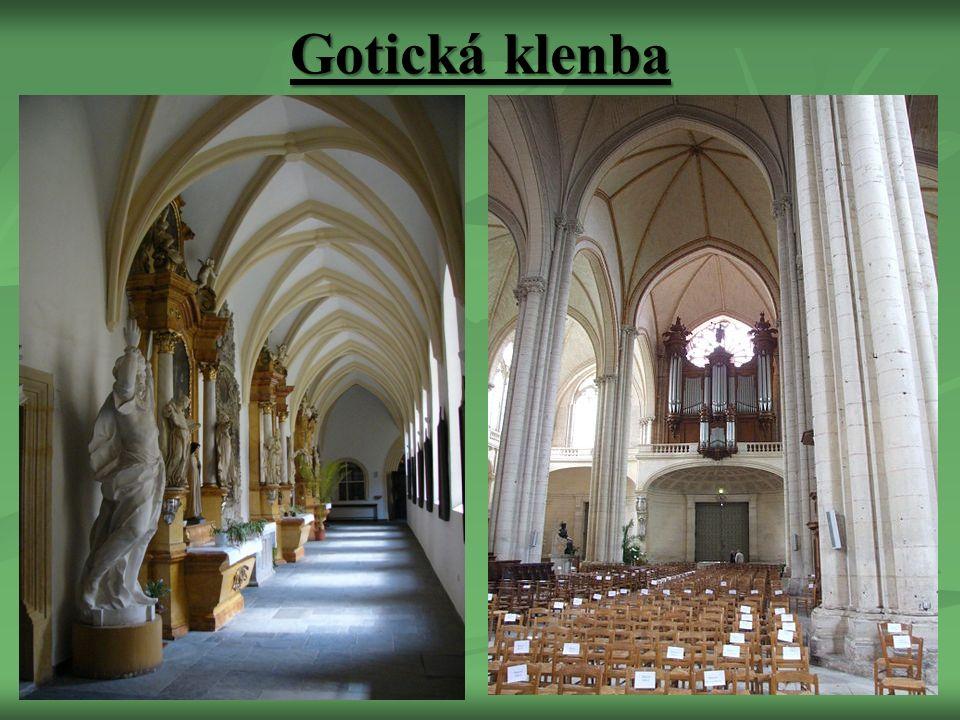 Gotická klenba