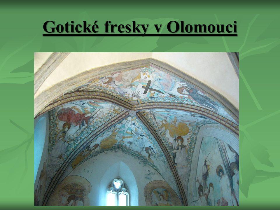 Gotické fresky v Olomouci