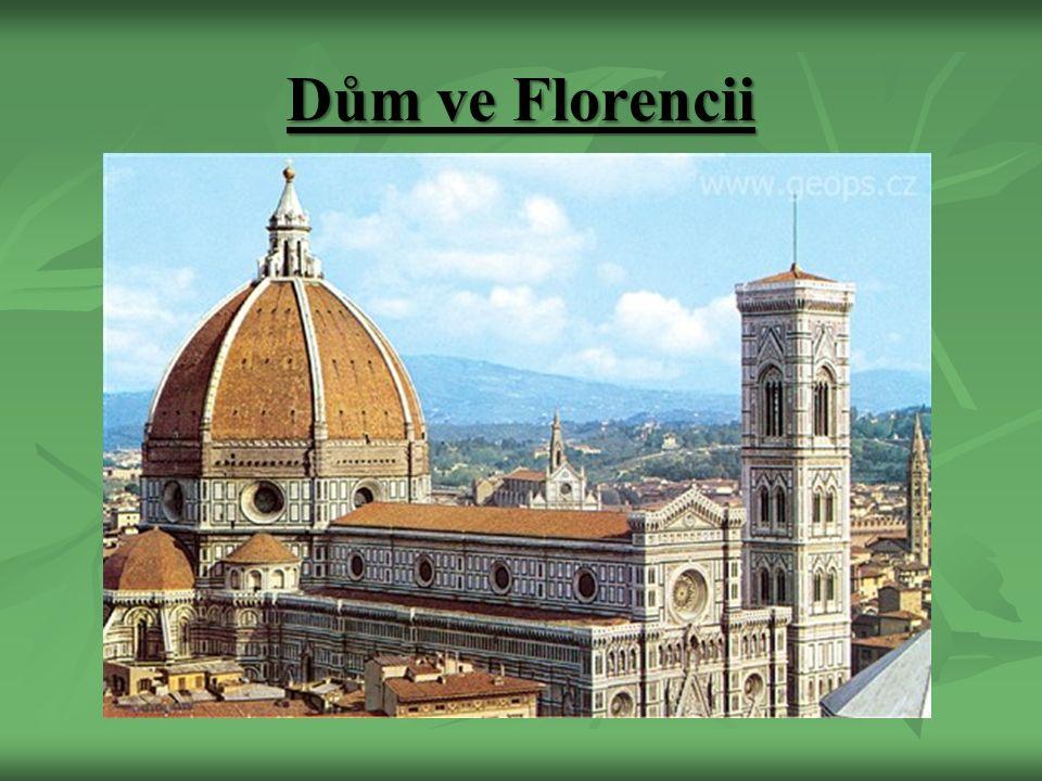 Dům ve Florencii