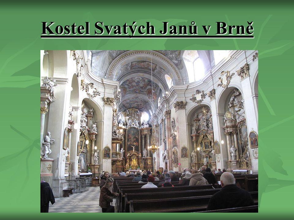 Kostel Svatých Janů v Brně