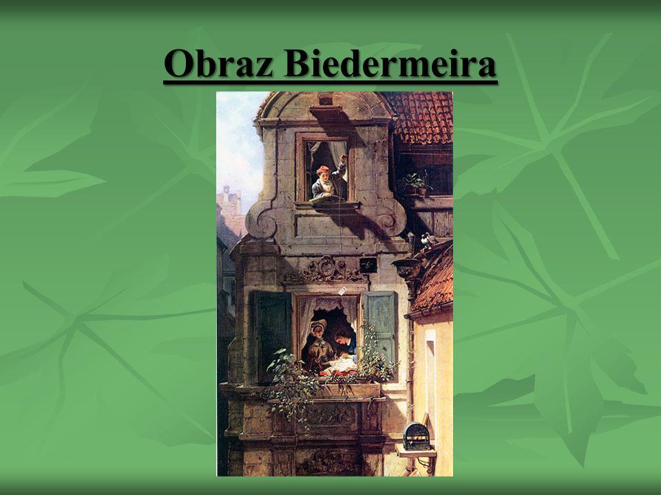 Obraz Biedermeira