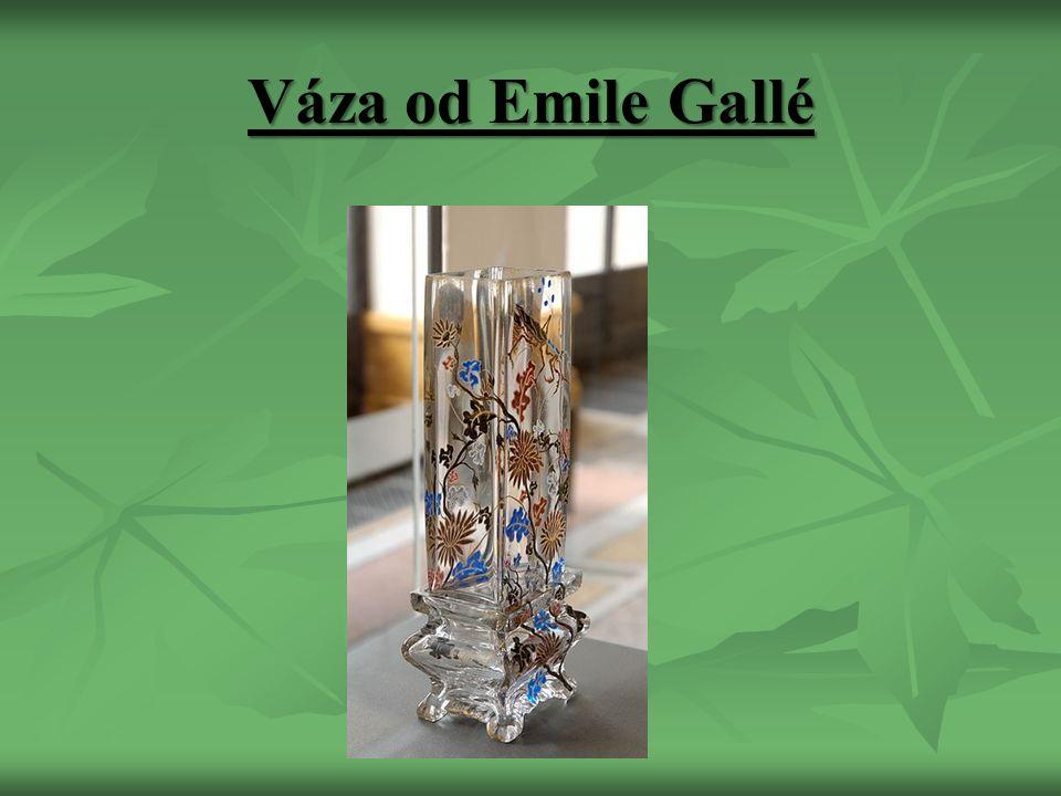 Váza od Emile Gallé