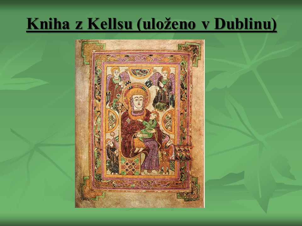 Kniha z Kellsu (uloženo v Dublinu)