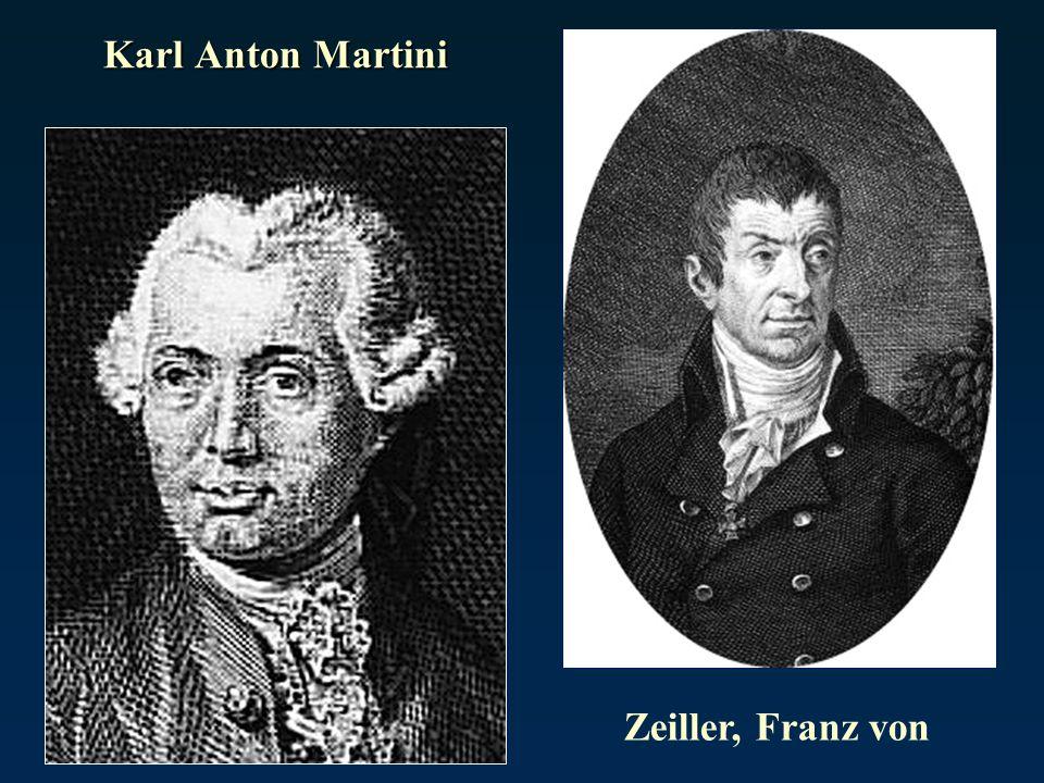 Karl Anton Martini Zeiller, Franz von