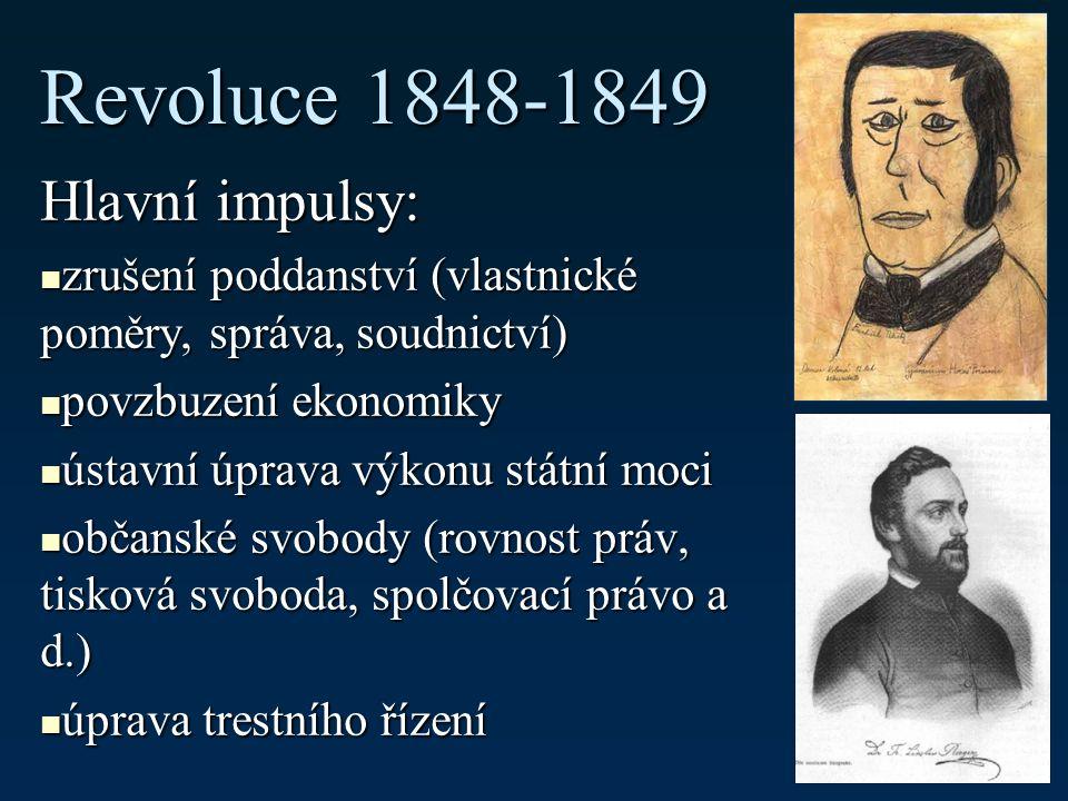 II.Právo v letech 1848-1918 1. čtyři poznámky na úvod 2.