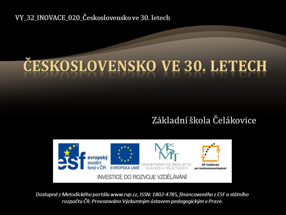 Autor: Mgr.František Šturma Vytvořeno: 16. 12. 2011 Stupeň a typ vzdělávání: II.