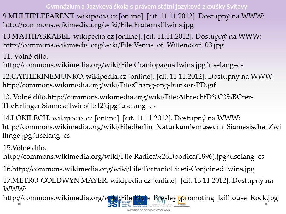 Gymnázium a Jazyková škola s právem státní jazykové zkoušky Svitavy 9.MULTIPLEPARENT.