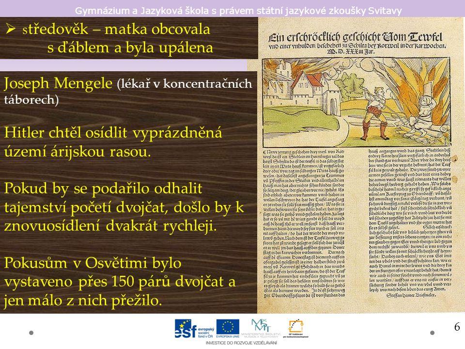 Gymnázium a Jazyková škola s právem státní jazykové zkoušky Svitavy 1.