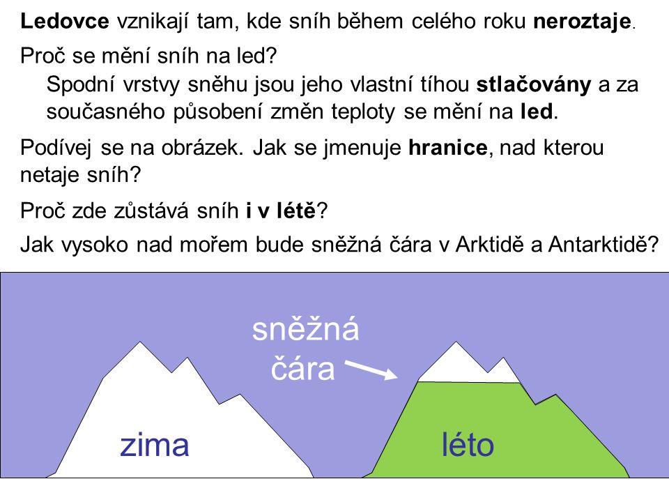 Jak se asi budou jmenovat ledovce v horách.Jak se jmenují ledovce na pevnině.