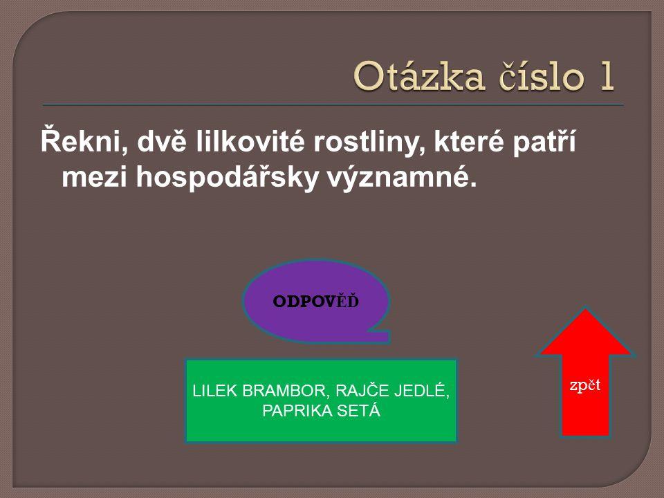 ODPOV ĚĎ DEV Ě TSIL zp ě t