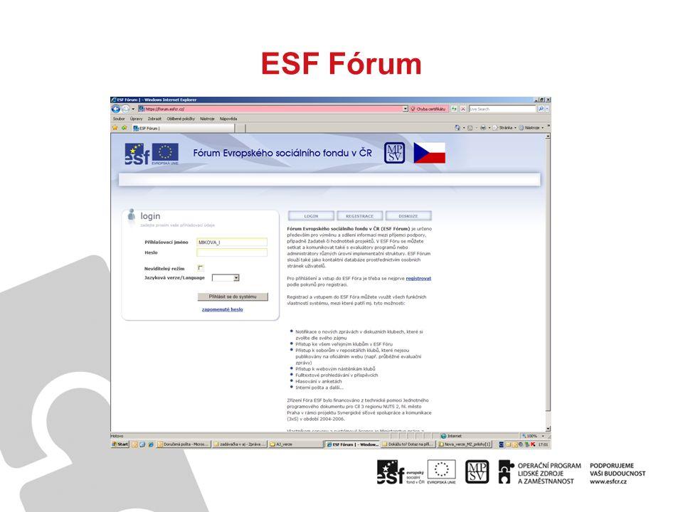 ESF Fórum