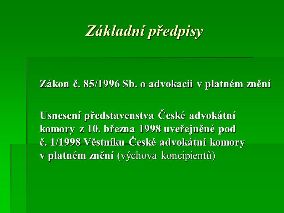 Substituce před soudem čl.