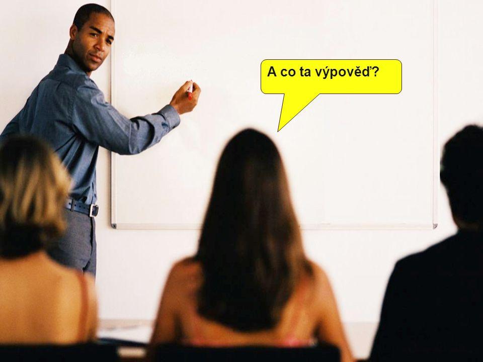 Ano, tu může dát buď zaměstnanec nebo zaměstnavatel, a to vždy písemně.