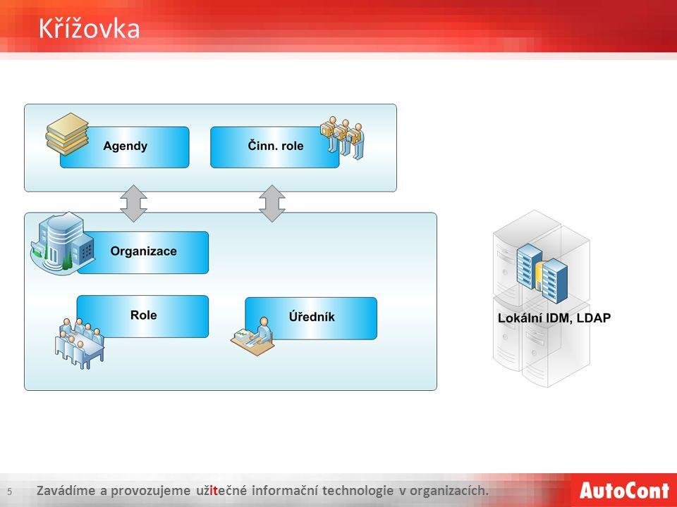 Zavádíme a provozujeme užitečné informační technologie v organizacích. Křížovka 5