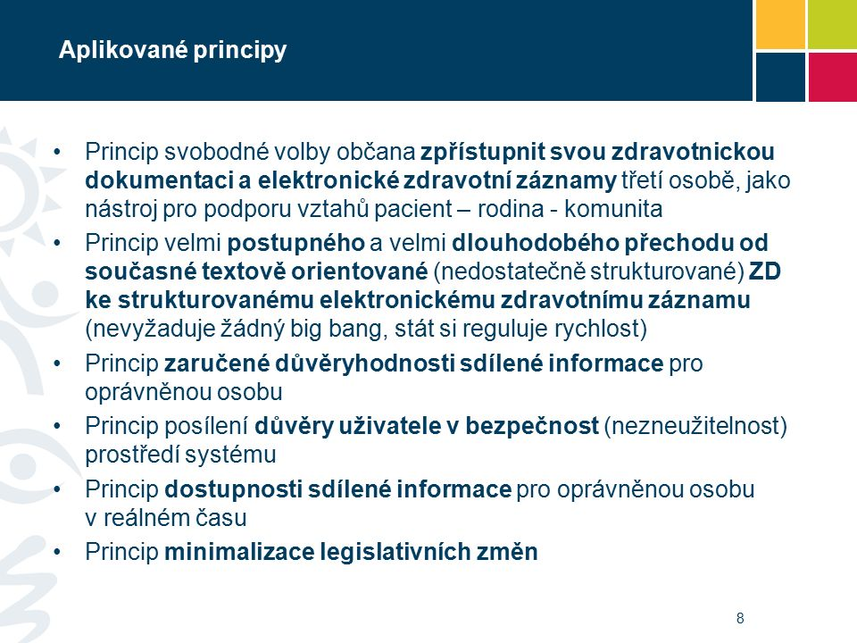 Vymezení pojmů ZD – Zdravotnická dokumentace ve smyslu zákona č.