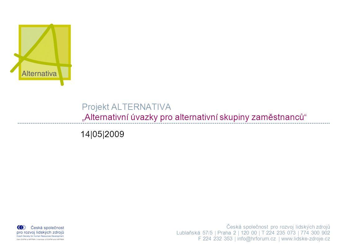 Alternativa 14.5.2009 Strana 12 ODBORNÝ MĚSÍČNÍK HR FORUM Časopis pro HR profesionály i další zájemce, kteří se zajímají o rozvoj lidských zdrojů Odborný měsíčník pro všechny, kteří chtějí dobře vést druhé i sami sebe Od začátku roku 2008 s novým obsahem i grafikou www.hrforum.cz