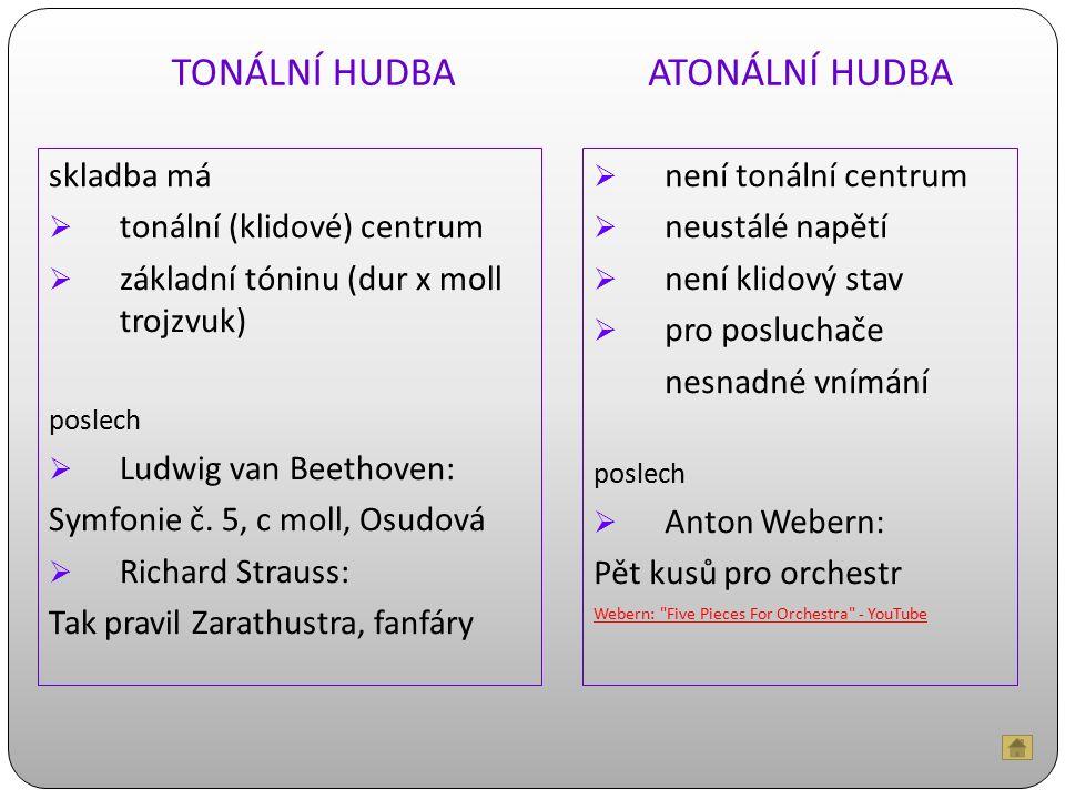 MODÁLNÍ HUDBA MODY umělé stupnice, které si skladatel určí jako materiál pro skladbu OLIVIER MESSIAEN Tři malé liturgie Boží přítomnosti Turangalila – 7.